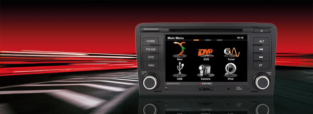 Navigation für AUDI Fahrzeuge